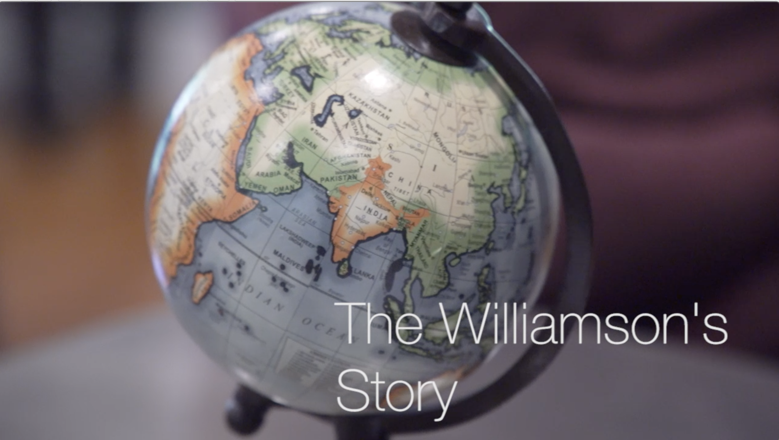 The Williamson's Story