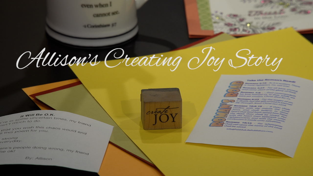 Allison's Creating Joy Story